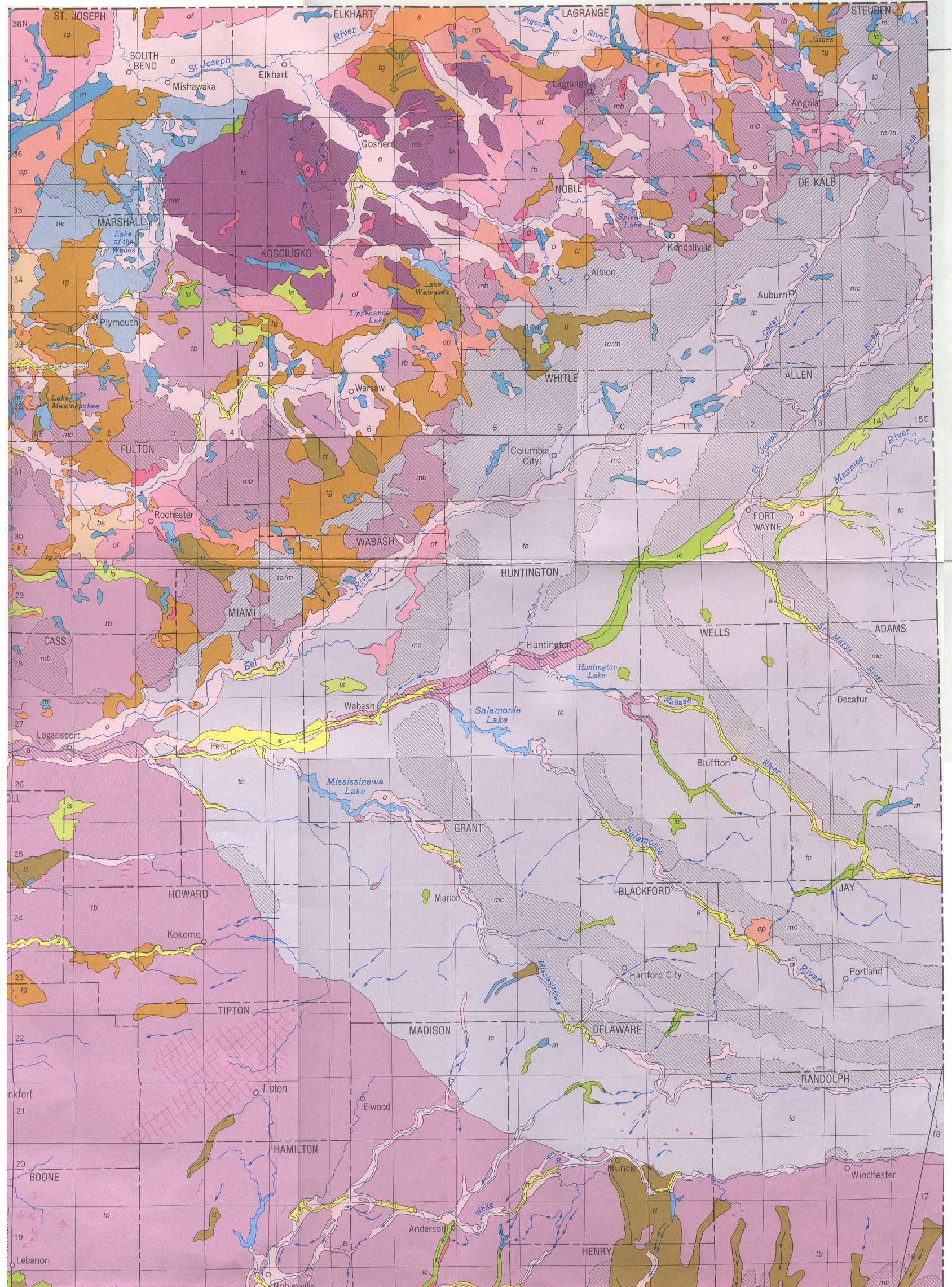 Moraine Soil Map
