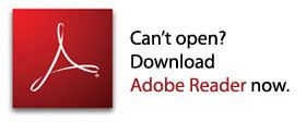 Can't open? Download Adobe Reader Now. Adobe Installation Page