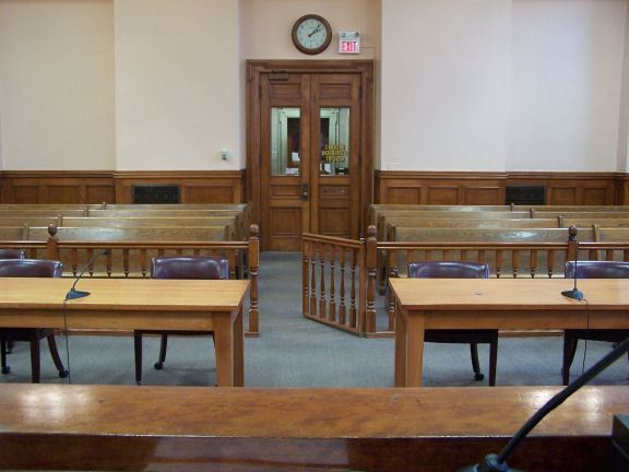 Judge View of the Court Room
