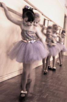 Children in a Dance Class