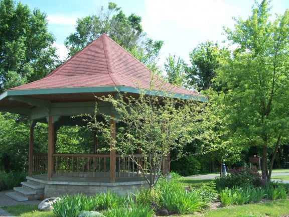 Gazebo in Trees